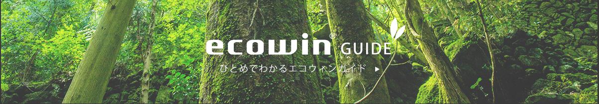 Ecowin guide
