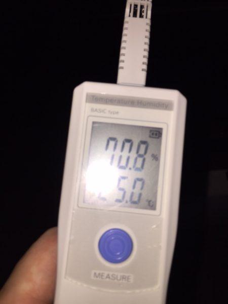 開始約2時間前の2F温度