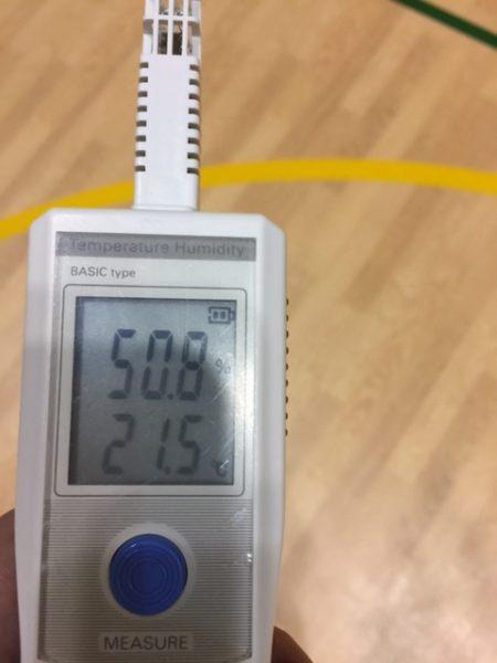 アリーナ温度